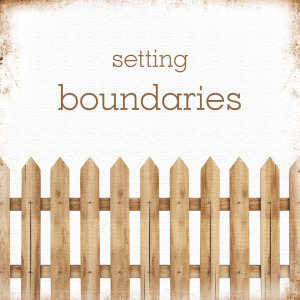 Setting Boundaries-Journey Through Divorce